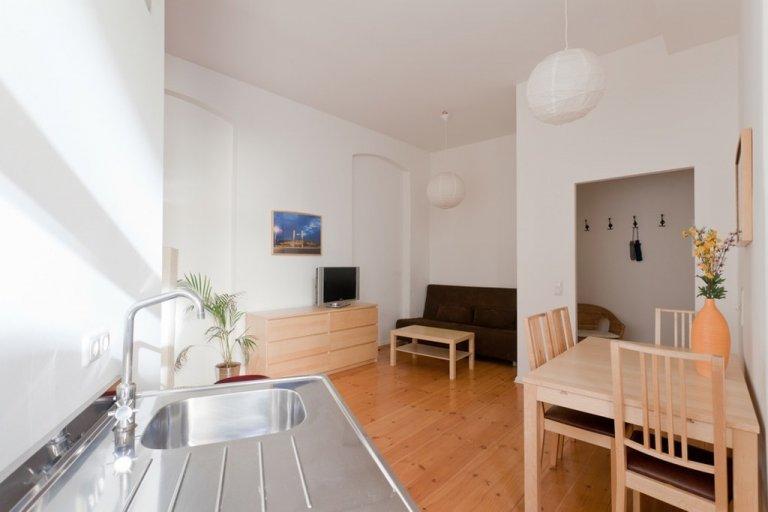 Apartamento de 1 quarto para alugar em Friedrichshain, Berlim