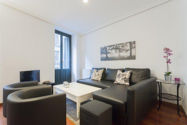 1-pokojowe mieszkanie do wynajęcia w Malasaña, Madryt