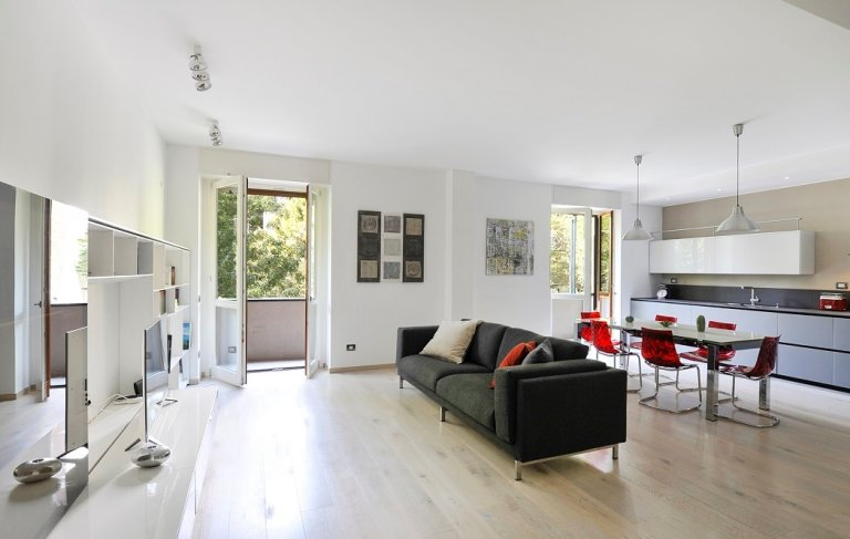 3-bedroom apartment for rent in Corso Sempione, Milan