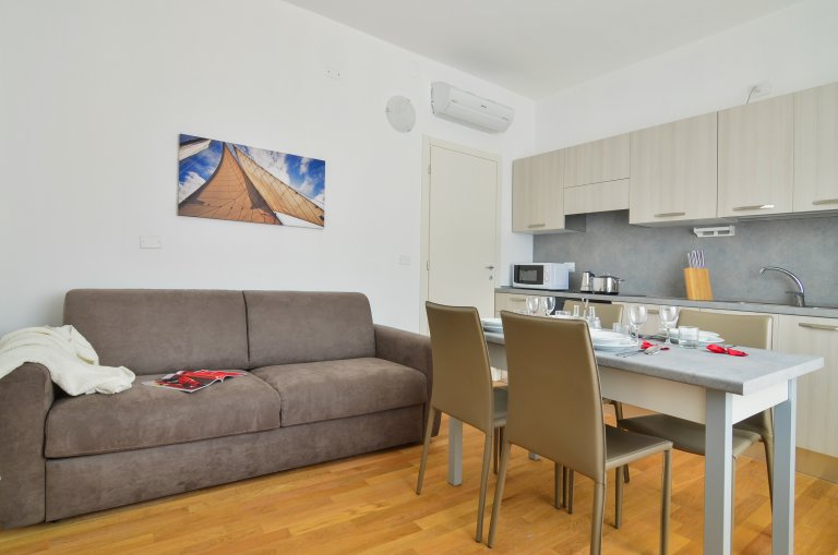 Excellent 1-bedroom apartment for rent in Maciachini, Milan