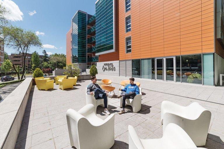 Studio in Studentenwohnheim zu vermieten in Ciudad Universitaria