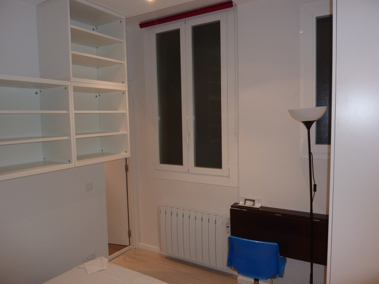 Bedroom 1 with queen bed, AC and ensuite