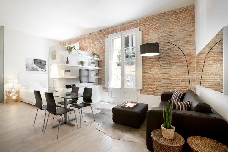 Bonito apartamento de estúdio para alugar em Barri Gòtic, Barcelona