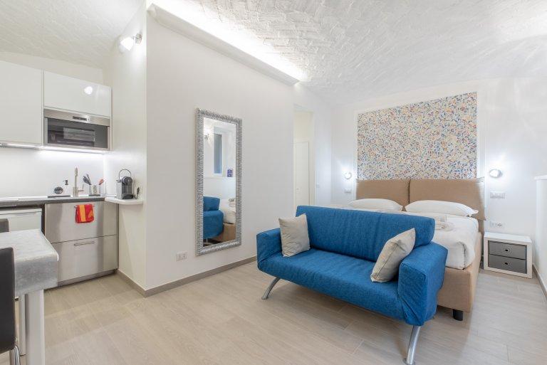 Lorenteggio, Roma'da kiralık stüdyo daire