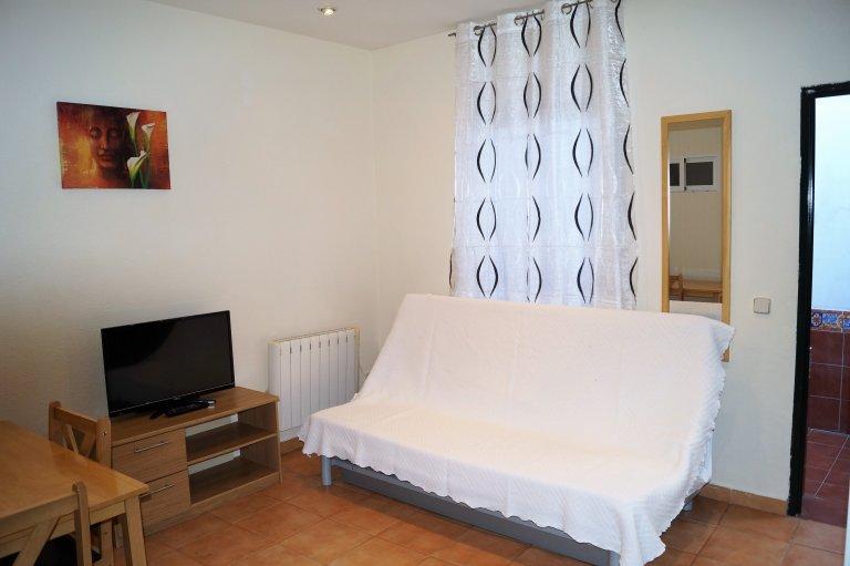 Acolhedor apartamento de 1 quarto para alugar em Carabanchel, Madrid
