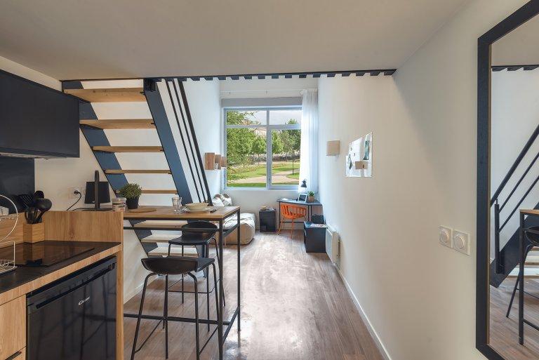 Apartamento estúdio para alugar em Palaiseau, Paris