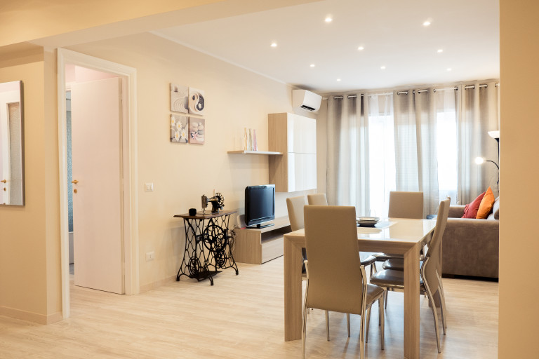 Spacious 3-bedroom apartment for rent in Centocelle, Rome