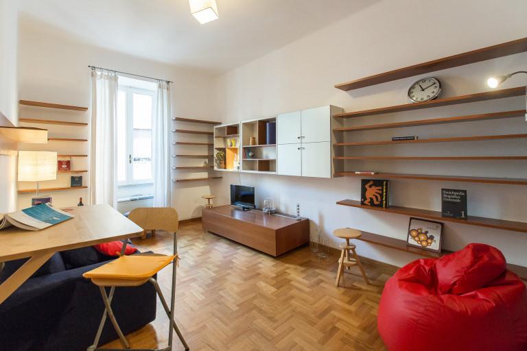 Beautiful 1-bedroom apartment for rent in San Lorenzo, Rome
