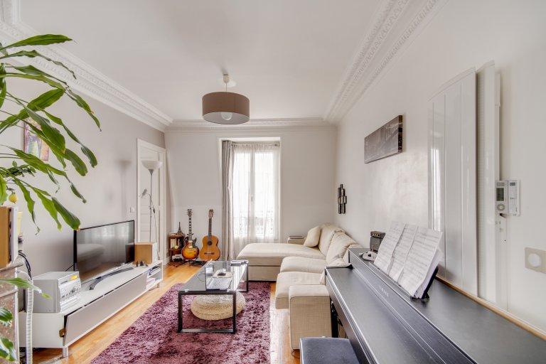 Apartamento de 1 dormitorio en alquiler en Paris 18