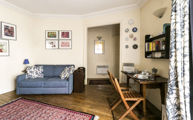 Lumineux appartement 1 chambre à louer à Paris