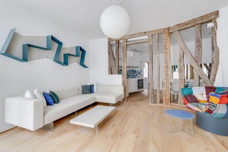 Appartamento con 2 camere da letto in affitto a Montparnasse, Parigi