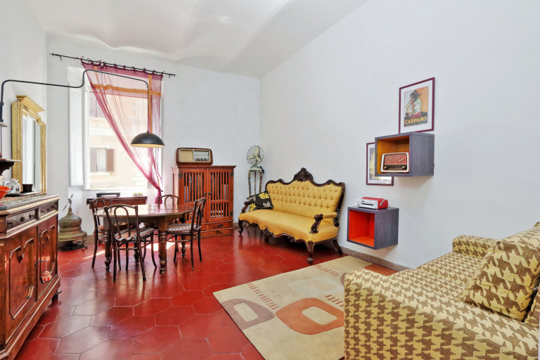 Przytulne 2-pokojowe mieszkanie do wynajęcia w Rzymie