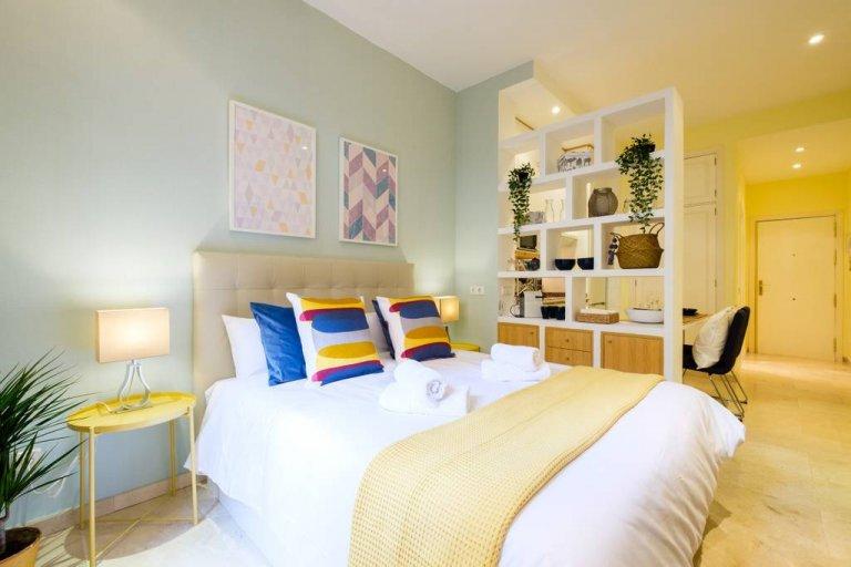 apartamento elegante estudio para alquiler en Malasaña, Madrid