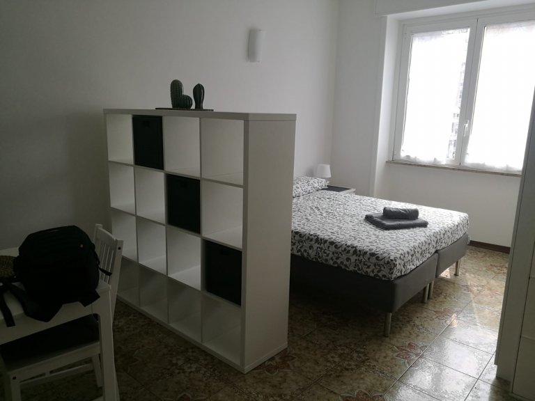 Habitación soleada en alquiler en Città Studi, Milán