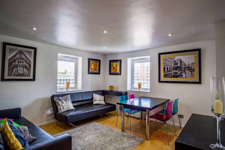 Appartement 1 chambre décontracté à louer à Whitechapel, Londres