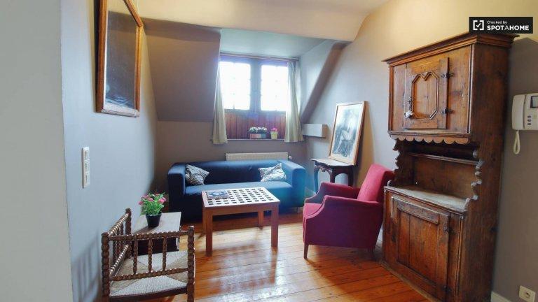Chambre en colocation à Schaerbeek