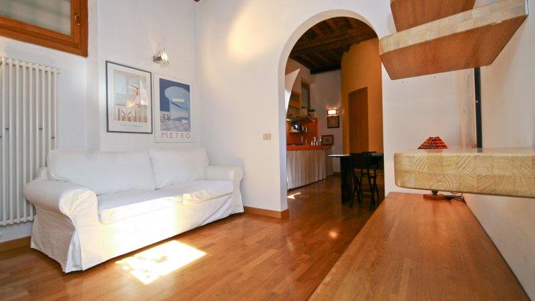 Appartement avec 1 chambre à louer à Trastevere, Rome