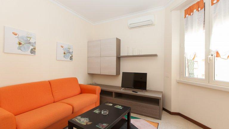 2-pokojowe mieszkanie do wynajęcia w Appio Latino, Rzym