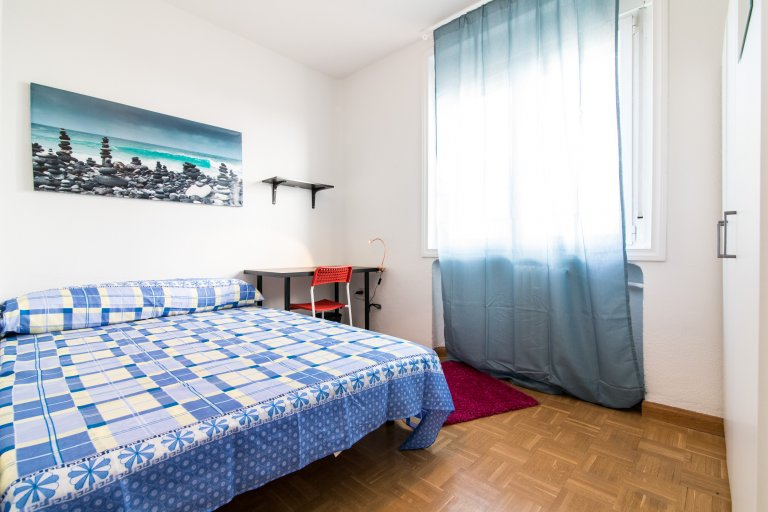 Room for rent in 4-bedroom apartment in La Latina, Madrid