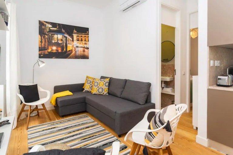 Acolhedor apartamento de 1 quarto para alugar em Penha de França, Lisboa
