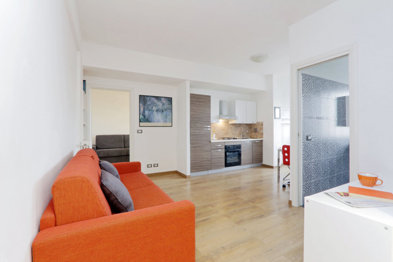 Modern 1-bedroom apartment for rent in Ostiense, Rome