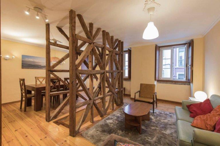 Zapraszanie 4-pokojowe mieszkanie do wynajęcia w Estrela, Lizbona