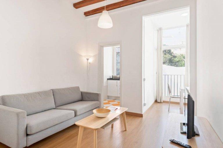 4-pokojowe mieszkanie do wynajęcia w Gràcia w Barcelonie