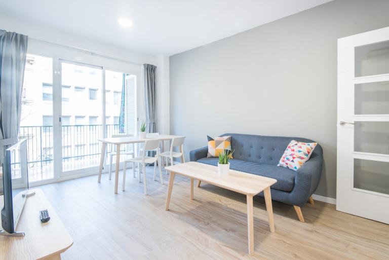 Apartamento de 4 quartos para alugar em Eixample Dreta, Barcelona