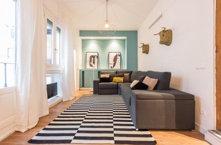 Lindo apartamento de 2 quartos para alugar em Centro, Madrid