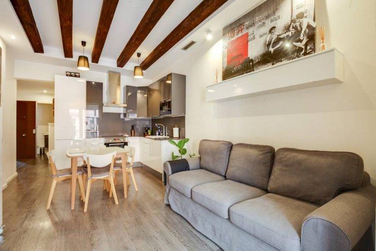 Niesamowite 1-pokojowe mieszkanie do wynajęcia w El Raval, Barcelona