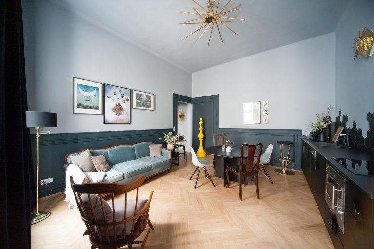 Trendy 3-bedroom apartment for rent in Leopoldstadt