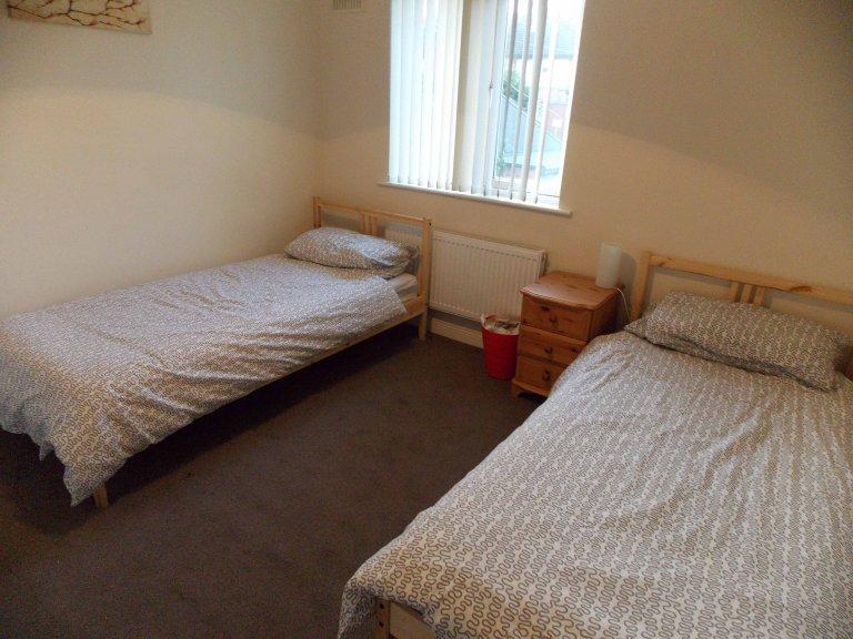Przytulny pokój w domu z 4 sypialniami w Stoneybatter w Dublinie