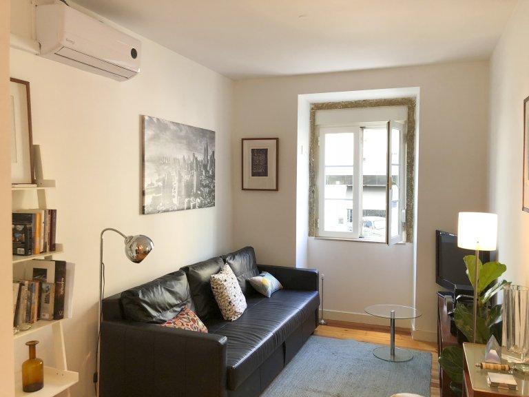 Campo de Ourique, Lizbon'da kiralık 1 yatak odalı daire