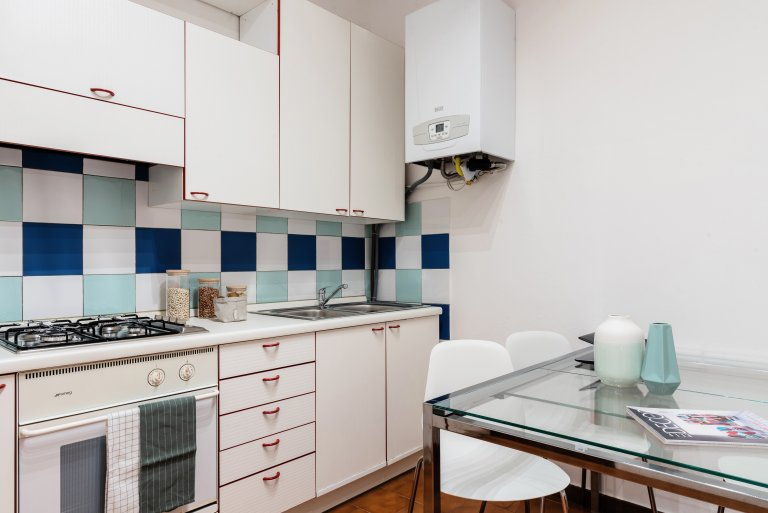 Cosy 1-bedroom for rent in Moscova, Milan