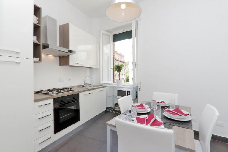 Élégant appartement 3 chambres à louer à Parioli