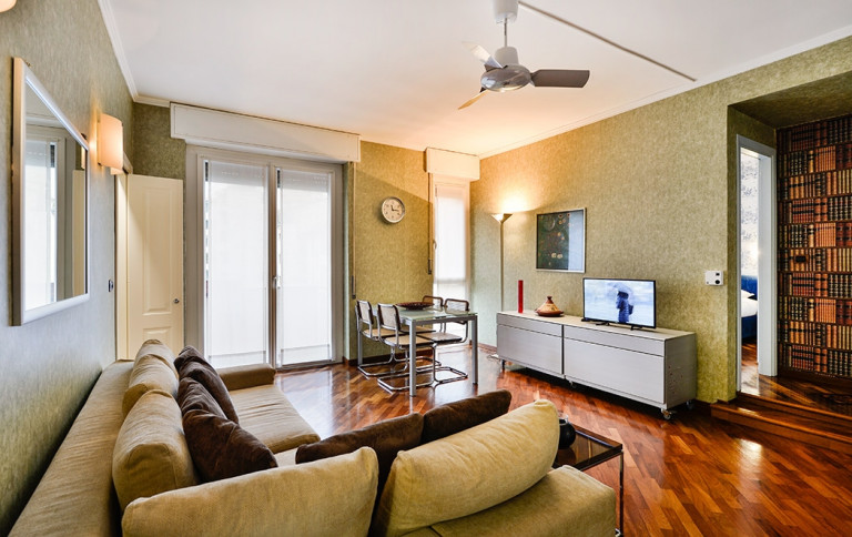 Comfortable 1-bedroom apartment for rent in Milan