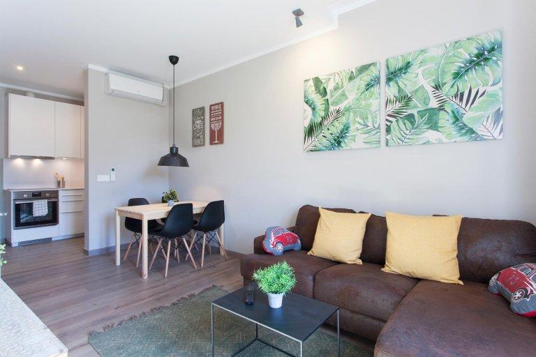 Fab 2-pokojowe mieszkanie do wynajęcia w l'Eixample Esquerra