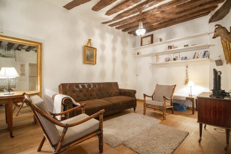 Appartement 1 chambre à louer au Marais, Paris
