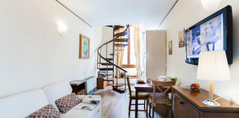 Acogedor apartamento de 1 dormitorio en alquiler en Pinciano, Roma