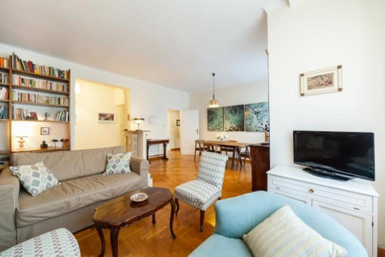 Cozy 2-bedroom apartment for rent in Treiste, Rome