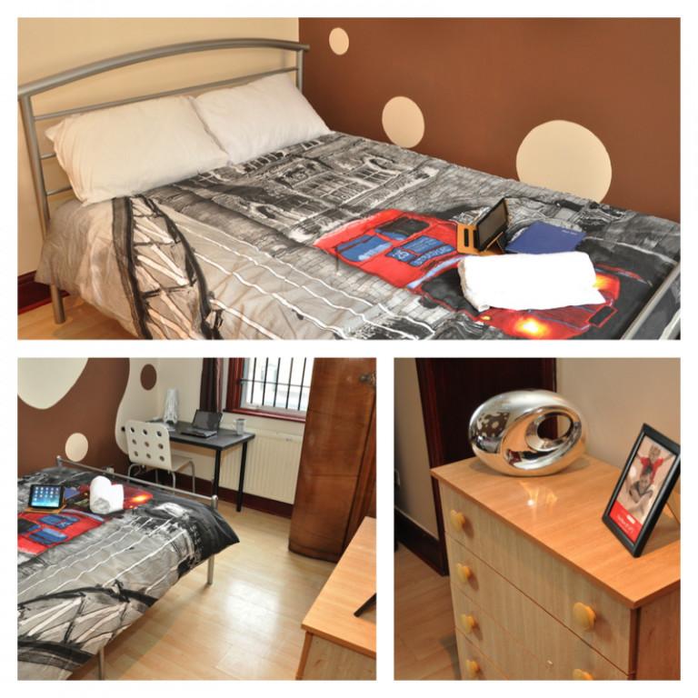 Chambre meublée dans un appartement de 7 chambres à Leyton, Londres