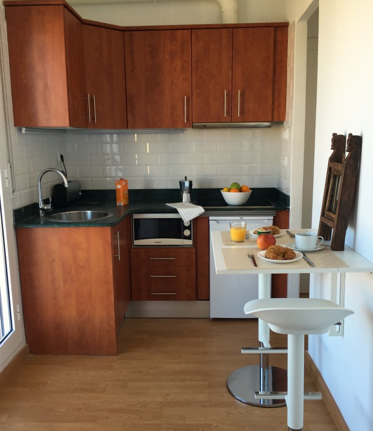 1-pokojowe mieszkanie do wynajęcia w La Barceloneta