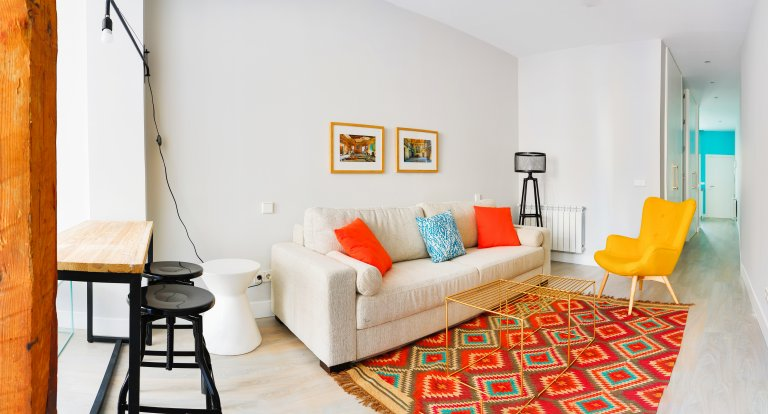 Schönes Studio-Apartment zur Miete in La Latina, Madrid