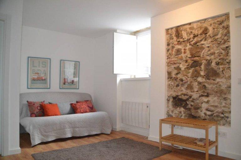 Grand studio à louer à Belém, Lisbonne