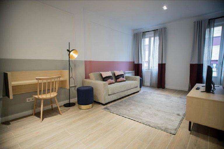 Apartamento de 1 quarto elegante para alugar em Atocha, Madrid