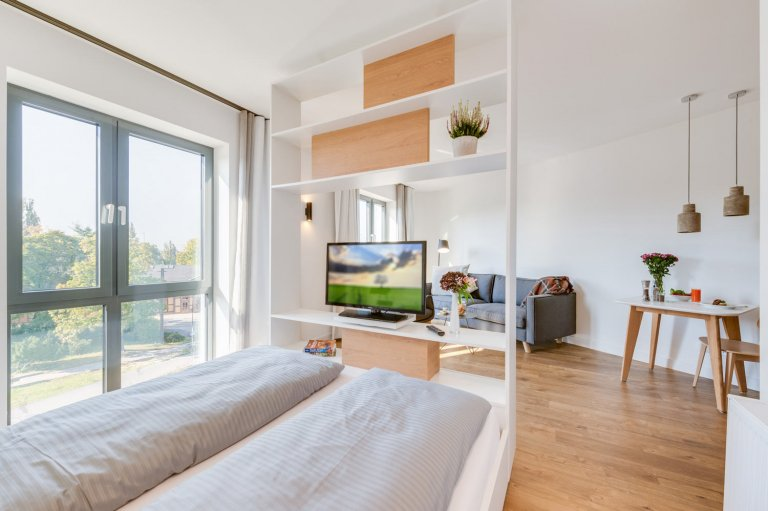 Modern studio apartment for rent in Lichtenberg, Berlin