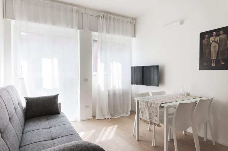 Light apartment with 1 bedroom for rent in Isola, Milan