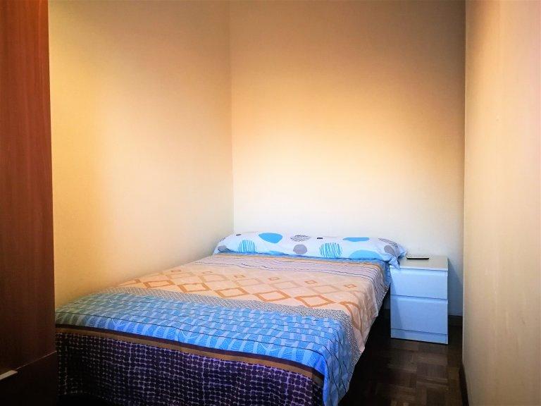 Sala de relax en apartamento de 7 habitaciones en Sants, Barcelona.