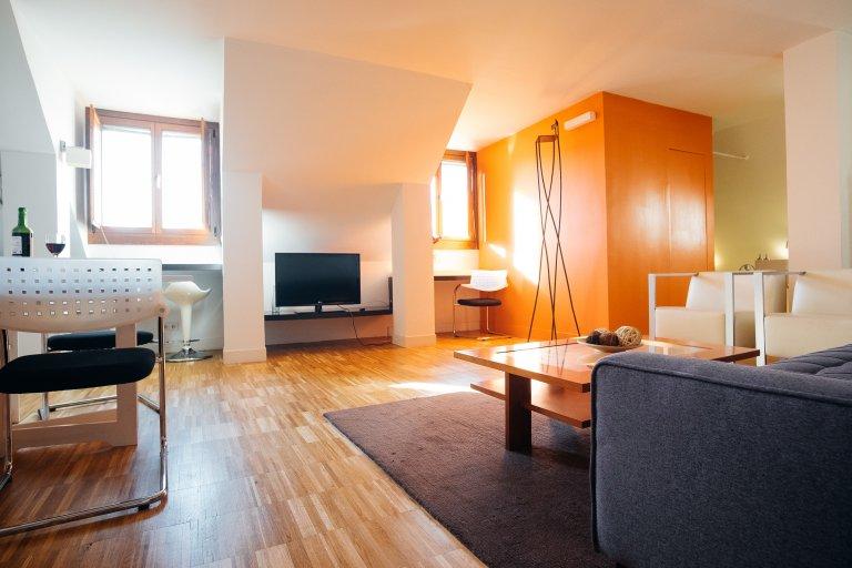 Studio apartment for rent in Centro, Madrid