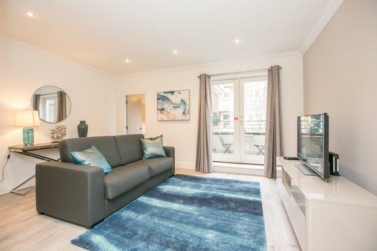 Stylowe mieszkanie z 4 sypialniami do wynajęcia w Ballsbridge w Dublinie